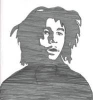 Bob Marley by Lovegreen13