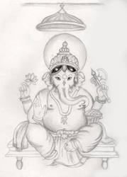 Ganesh by Lovegreen13