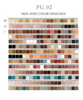 skin tone swatches by ovalbrush