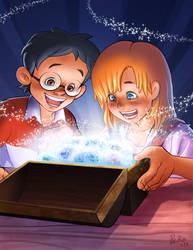 Pitching Snowball Treasure by froggiechan