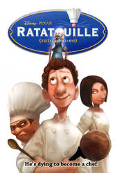 SOTM-Ratatouille Movie Poster by froggiechan