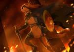 Flames of War by froggiechan