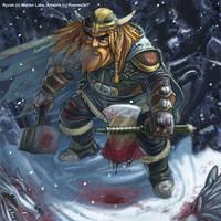 Dwarf Commission by froggiechan