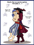 Butt Pirates by StarTyrian
