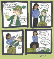 Green Beer by StarTyrian