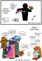 Stupid Kagerou Tricks p3 by StarTyrian