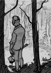 Jason in Camp Blood by Darthpepo1