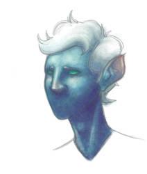 Blue Person by Darthpepo1
