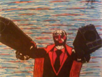 Mask de Smith (Killer7) by ComradeRooski