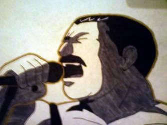 Freddie Mercury by ComradeRooski