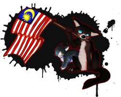 Happy Independence Day, Malaysia! by aiMikash