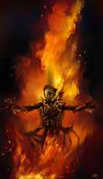 Dark fire by kriegsmachine14