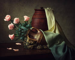 Still life with roses by Daykiney
