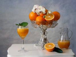 Orange fresh juice by Daykiney