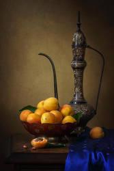 Oriental apricot by Daykiney
