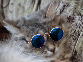 Masyanya in the glasses by Daykiney