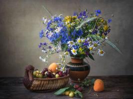 With wildflowers by Daykiney
