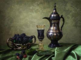 Blackberry wine by Daykiney