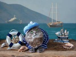 Little sailor girl by Daykiney