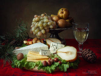Christmas cheese plate by Daykiney