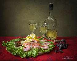 Still life with seafood by Daykiney