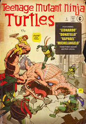 the fantastic TMNT by m7781