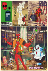 what if... deadpool had a TARDIS by m7781