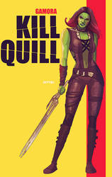 gamora: kill quill by m7781