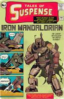 iron man x boba fett : iron mandalorian by m7781