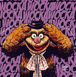 fozzie bear : the killing joke by m7781