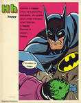 super dictionary: 'happy' batman by m7781