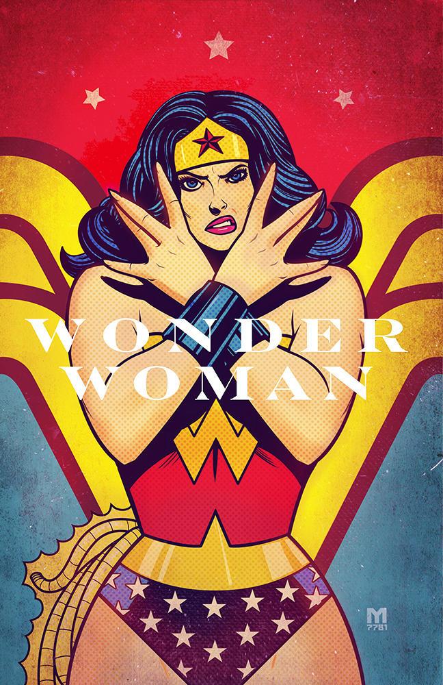 wonder woman by m7781