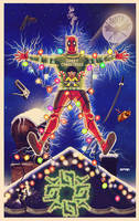deadpool christmas vacation by m7781
