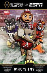 marvel x ESPN college football by m7781