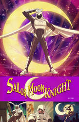 sailor moon knight by m7781