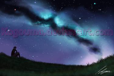 A Night's Sky by Kogouma