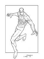 Digital Spider-Man by lukesparrow
