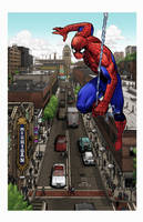 Ann Arbor Spider-Man by lukesparrow