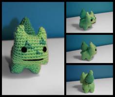 Chibi Bulbasaur pokemon by CheerfulPessimist88