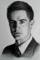 Dale Cooper from Twin Peaks by Ahriami by Ahriami