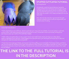 Easy Stuffed Cuttlefish Tutorial by KonspiracyKid801