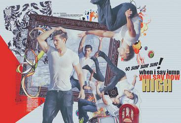 Taylor Lautner JUMP by misspainiac