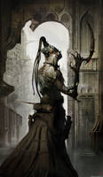 chap 28  - Fantasy humanoid character illu high re by kingkostas