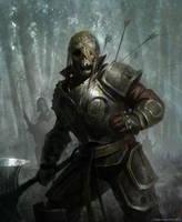 skeleton warrior by kingkostas