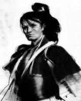 SamuraiDrawing by kingkostas