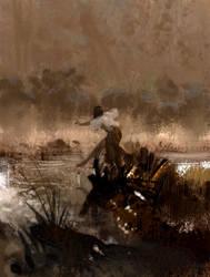 On the Lake by kingkostas