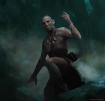 Tribal Warrior by kingkostas