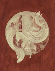 Kitsune by ishrahsan
