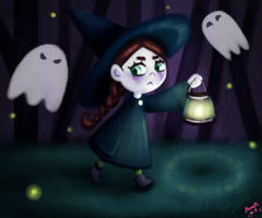 The Little Witch by SaintParazite