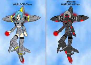 Mecha-Musume: WARLOCK-Chan by Hexidextrous